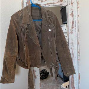 Genuine suede blank nyc jacket